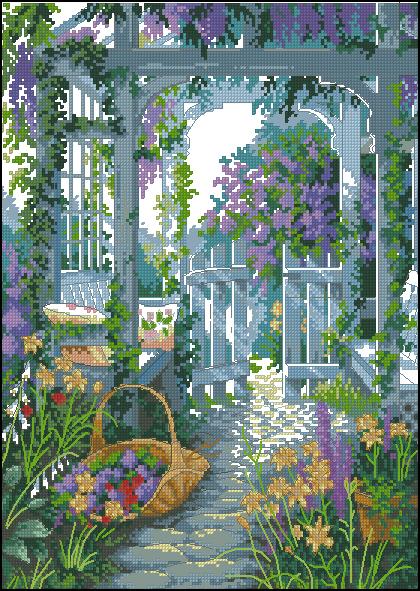 Dimensions 13692 Garden Gate