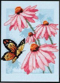 Dimensions65046_Butterfly_and_Blossoms