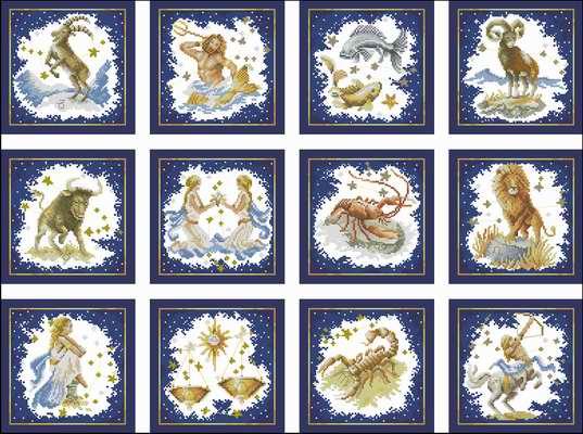 Lanarte 34629-34640 - Zodiak