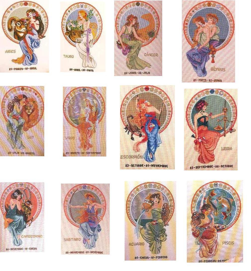 знаки зодиака девушки картинки: