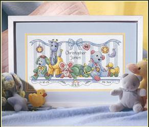 Dimensions 00362 - Toy shelf birth record