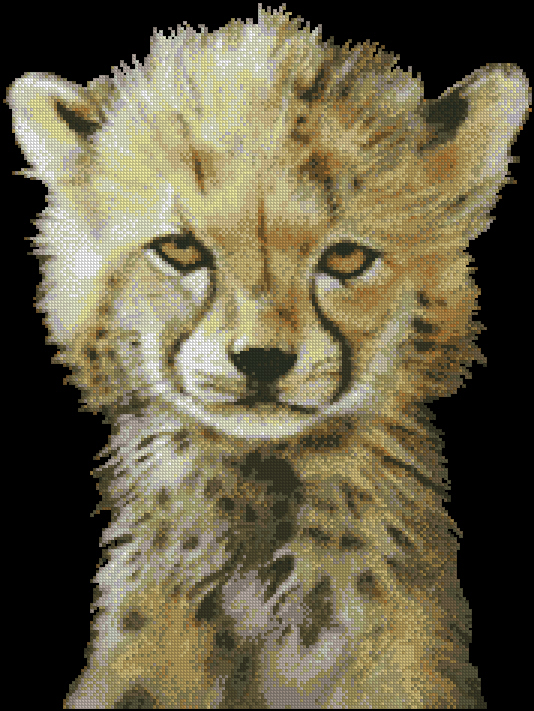 KK JW-007 Baby Cheetah