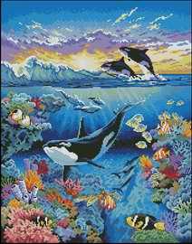 Живой океан — the living ocean dimensions 72572