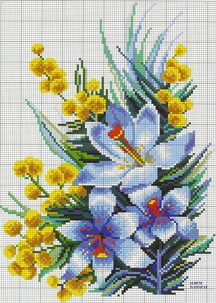 количество цветов: 19