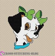 Dalmatian Green Bows
