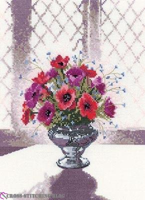 WFSV656 Silver Vase