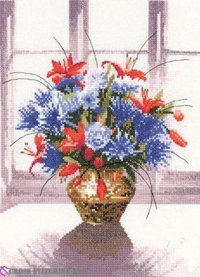 WFBV653 Brass Vase
