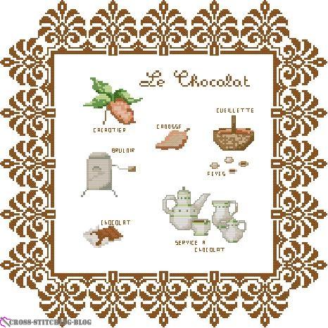 DMC XC0169 Le chocolat