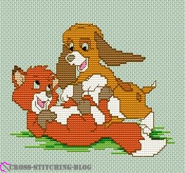 Disney the Fox and the Hound 1