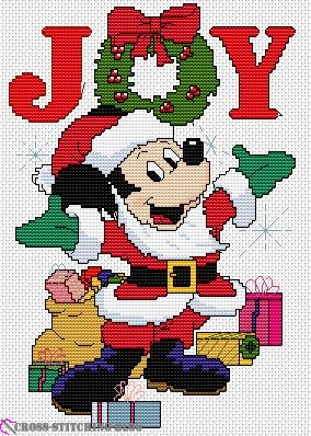 Paragon - Christmas in Counted Cross Stitch - Mickey Joy
